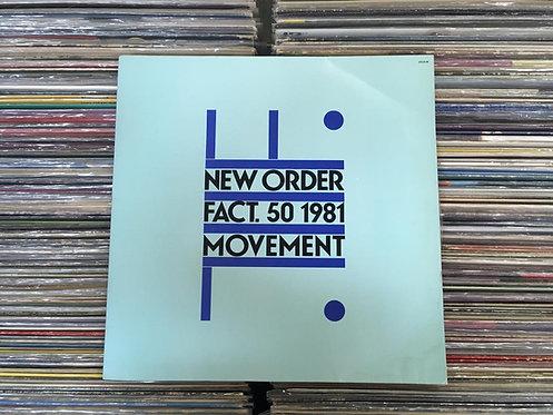 LP New Order - Movement