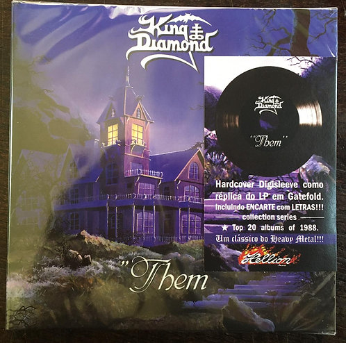 CD King Diamond - Them - Digisleeve - Lacrado
