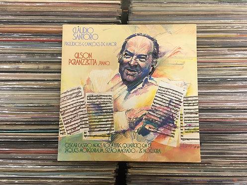 LP Gilson Peranzzetta - Cláudio Santoro - Prelúdios - C/ Encarte