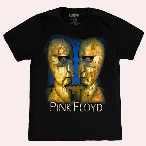 Camiseta Pink Floyd - Division Bell - Bomber