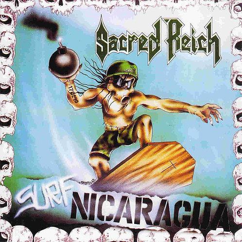 CD Sacred Reich - Surf Nicaragua - Importado - +Bônus - Lacrado