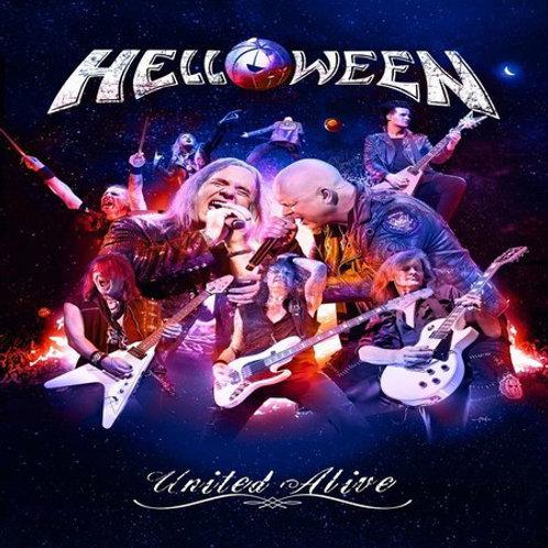 CD Helloween - United Alive - Triplo - Box Digipack