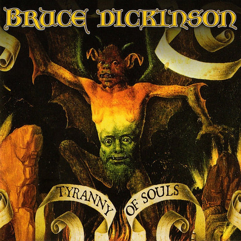 CD Bruce Dickinson - Tyranny Of Souls - Importado - Lacrado