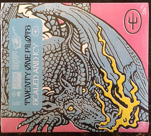 CD Twenty One Pilots - Scaled And Icy - Digipack - Lacrado