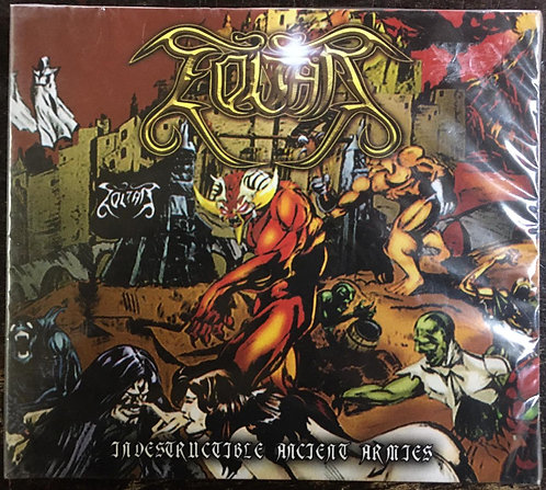 CD Zoltar - Indestructible Ancient Armies - Digipack - Novo