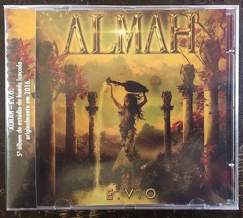 CD Almah - E.V.O - Lacrado
