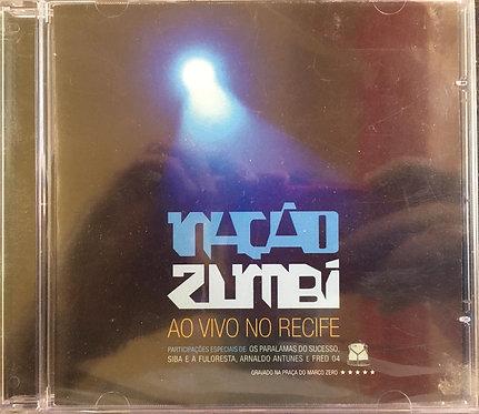 CD Nação Zumbi - Ao Vivo No Recife - Lacrado