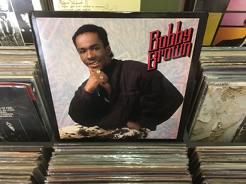 LP Bobby Brown - King Of Stage - Importado - Com Encarte