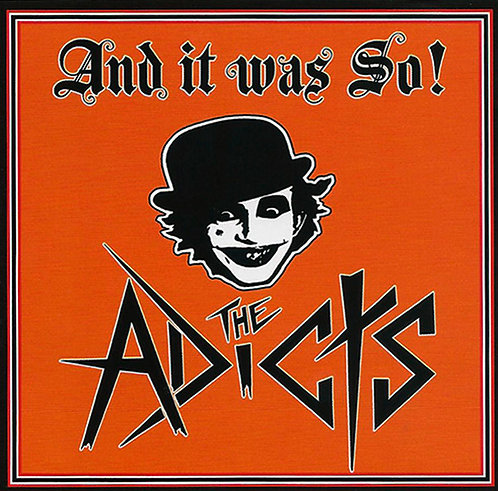 CD The Adicts - And It Was So! - Lacrado