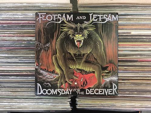 LP Flotsam And Jetsam - Doomsday For The Deceiver - Capa Dupla