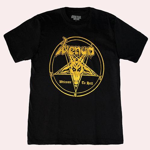 Camiseta Venom - Welcome To Hell - Brutal