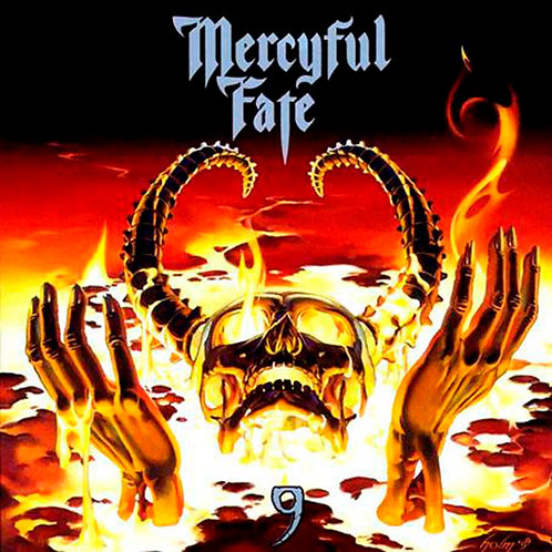 CD Mercyful Fate - 9 - Slipcase - Lacrado