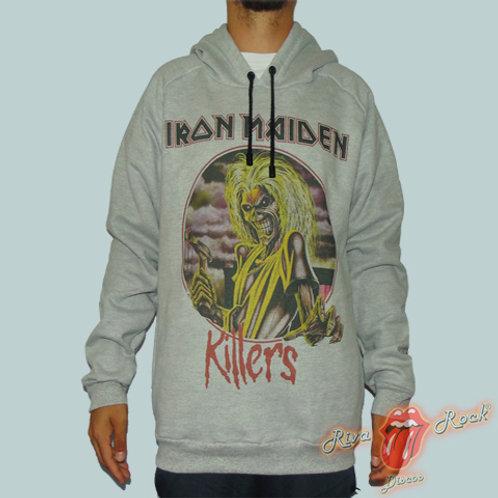 Moletom Iron Maiden - Killers - Bomber