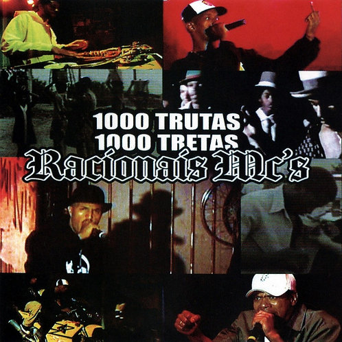 CD Racionais Mc's - 1000 Trutas 1000 Tretas - Lacrado
