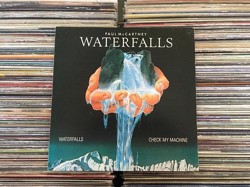 LP Paul Mccartney - Waterfalls / Check My Machine