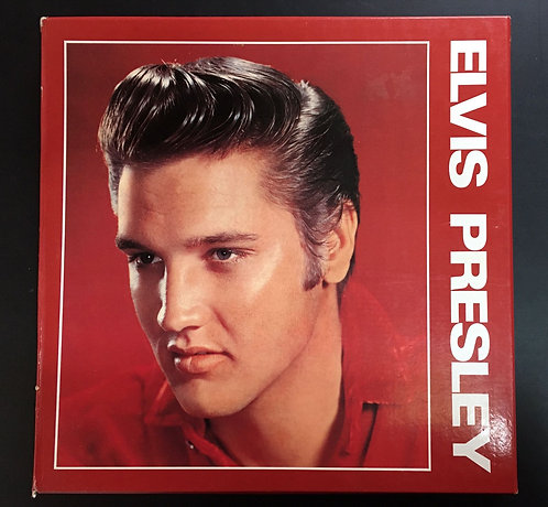 Box LP's Elvis Presley - 1989 - 5 LP'S - C/ Livreto
