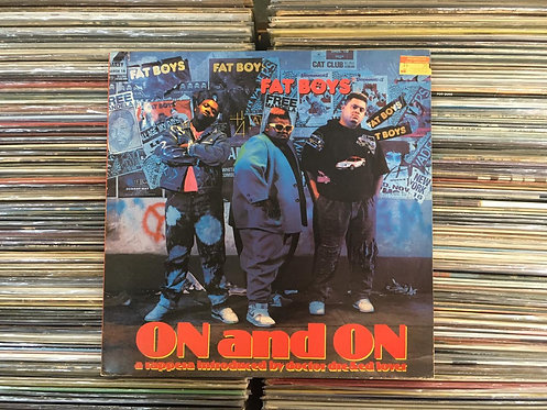 LP Fat Boys - On And On