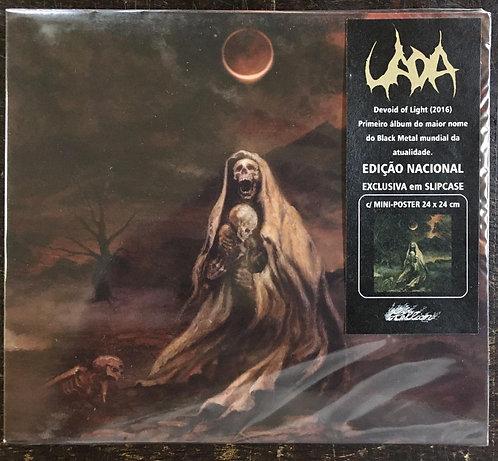 CD Uada - Devoid Of Light - Slipcase - + Mini Pôster - Lacrado
