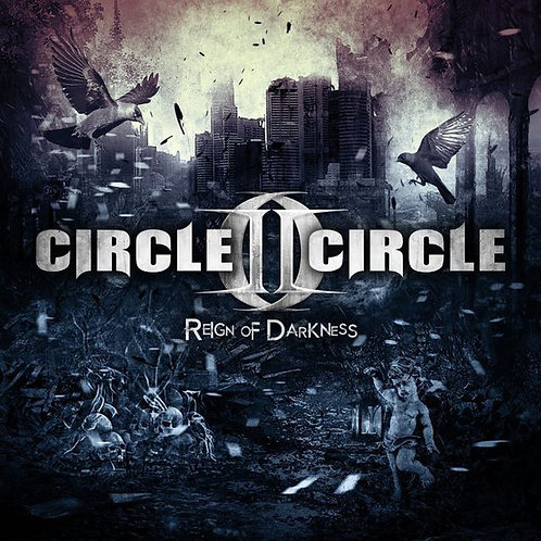 CD Circle II Circle - Reign Of Darkness - Importado - Lacrado