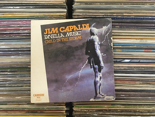 Compacto Jim Capaldi - Favella Music / Child In The Storm