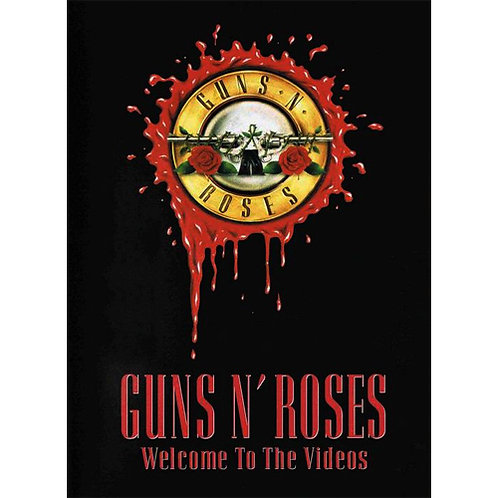 DVD Guns N' Roses - Welcome To The Videos - Lacrado