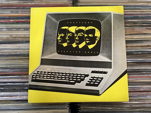 LP Kraftwerk - Computer World - Com Encarte
