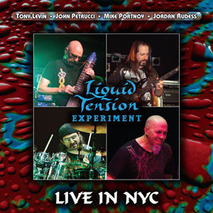 CD Liquid Tension Experiment - Live In Nyc - Imp - Duplo - Importado