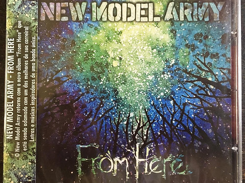 CD New Model Army - From Here - Lacrado