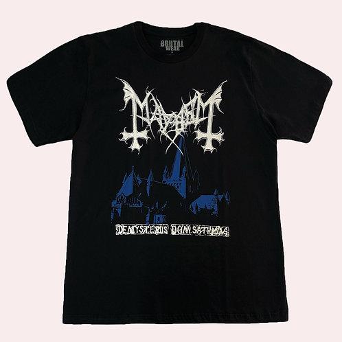 Camiseta Mayhem - De Mysteriis Dom Sathanas - Brutal