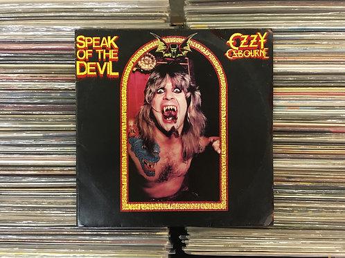 LP Ozzy Osbourne - Speak Of The Devil - Duplo - Capa Dupla