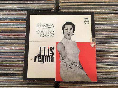 LP Elis Regina - Samba, Eu Canto Assim