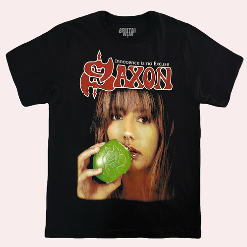 Camiseta Saxon - Innocence Is No Excuse - Brutal