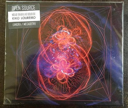 CD Kiko Loureiro - Open Source - Slipcase - Lacrado