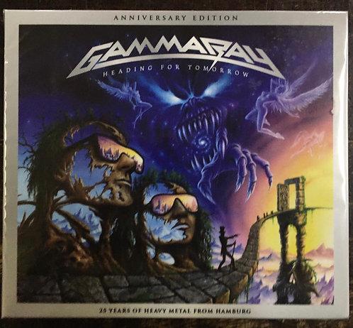 CD Gamma Ray - Heading For Tomorrow - Duplo - Lacrado