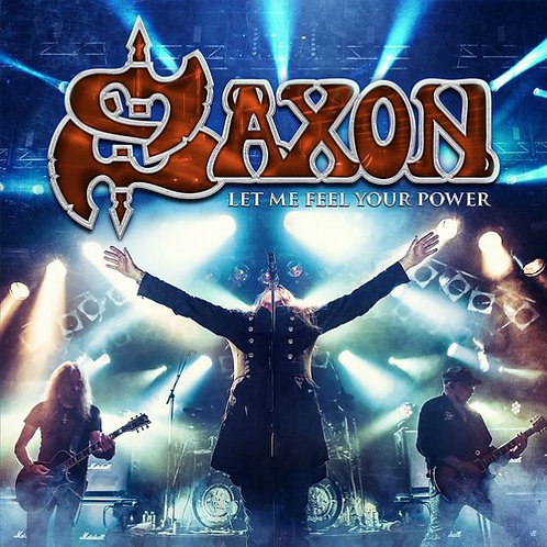 CD Duplo + DVD Saxon - Let Me Feel Your Power - Lacrado