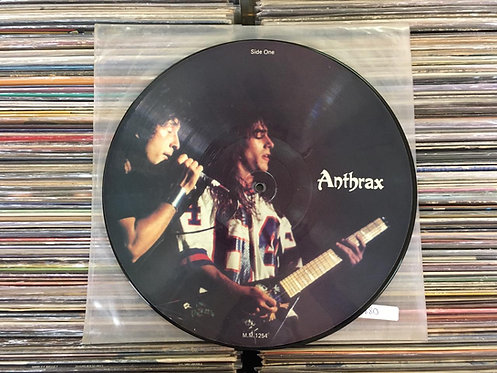 LP Anthrax - Limited Edition Interview Picture Disc - Imp
