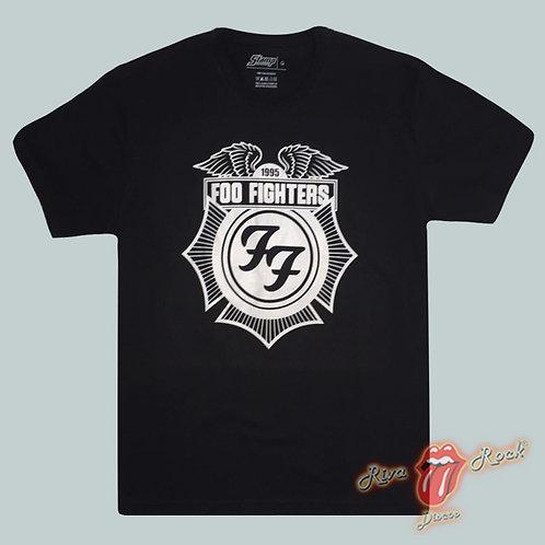 Camiseta Foo Fighters - Logo - Stamp