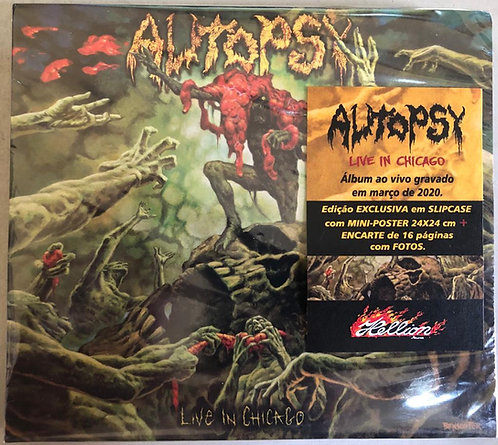 CD Autopsy - Live In Chicago - Slipcase - Lacrado