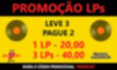 Promo LPs - 3 por 40,00 com logo - faceb