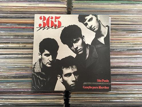 LP 365 - São Paulo / Canção Para Marchar - Single - 12''