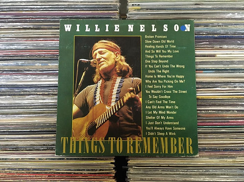 LP Willie Nelson - Things To Remember