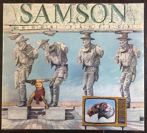 CD Samson - Shock Tactics - +Bônus / Slipcase - Lacrado