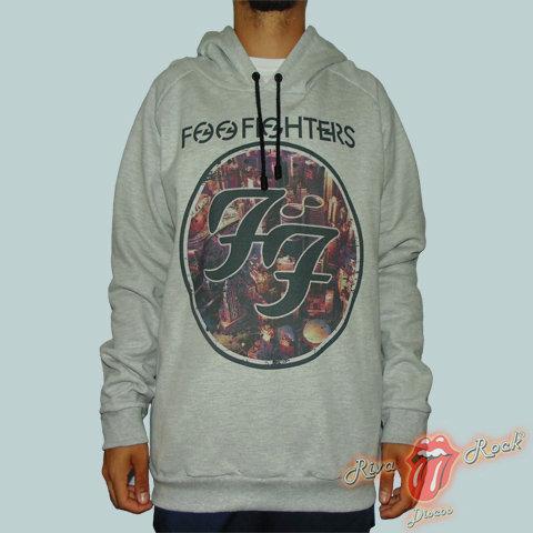 Moletom Foo Fighters - Sonic Highways - Bomber