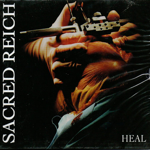 CD Sacred Reich - Heal - Slipcase - Lacrado