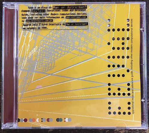 CD Man Or Astro-Man? - Eeviac - Importado