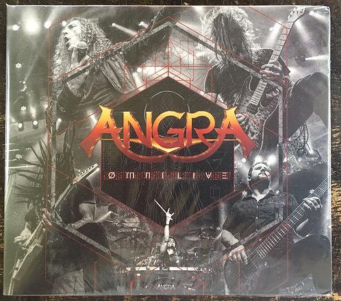 CD Angra - Ømni Live - Duplo - Digipack - Lacrado