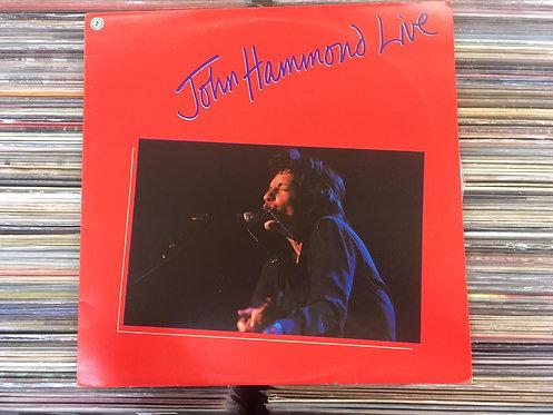 Lp John Hammond - John Hammond Live