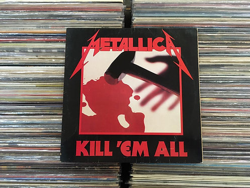 LP Metallica - Kill 'Em All