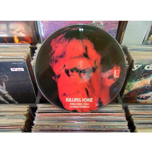 LP Killing Joke - Interview Disc - Importado - Picture Disc