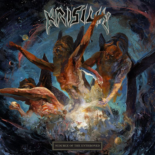 CD Krisiun - Scourge Of The Enthroned - Lacrado